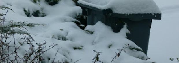 la neige perturbe la collecte des déchets Argenteuil Bezons Cormeilles La Frette